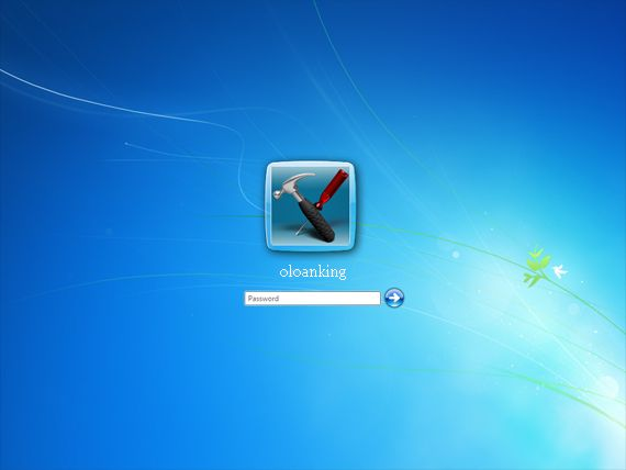 Windows 7 default logon ui